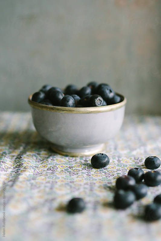 Blueberries by Helen Rushbrook for Stocksy United