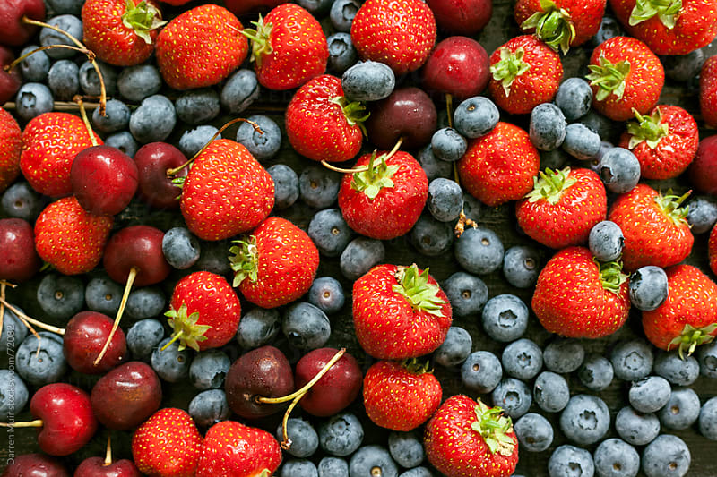 Berry Background. by Darren Muir for Stocksy United