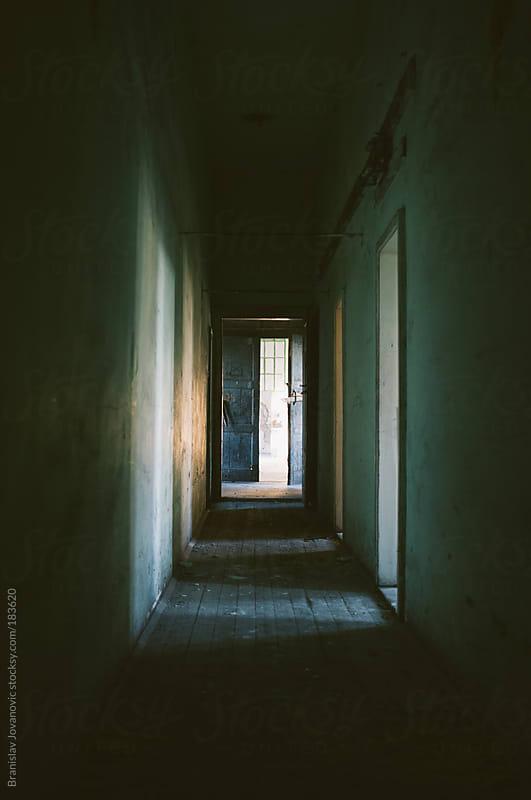Creepy Hallway by Brkati Krokodil for Stocksy United