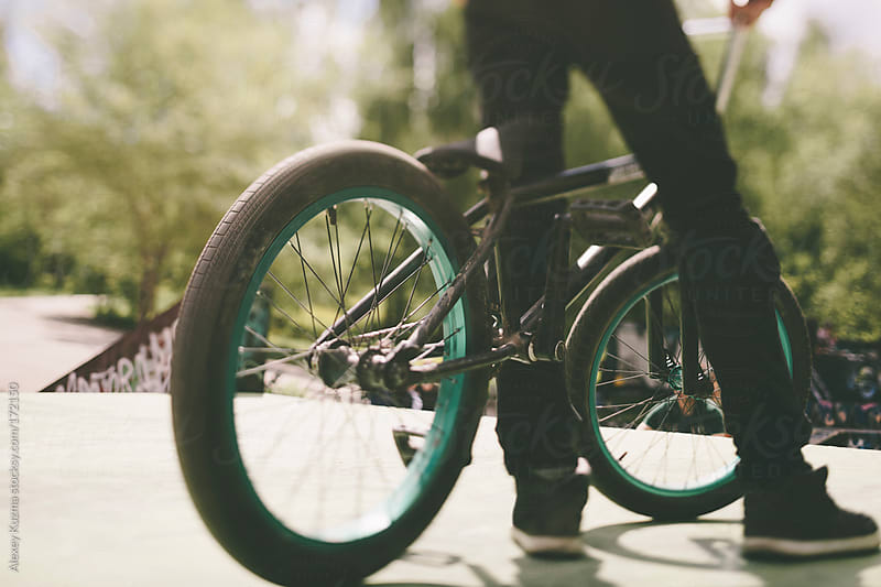 bmx by Alexey Kuzma for Stocksy United