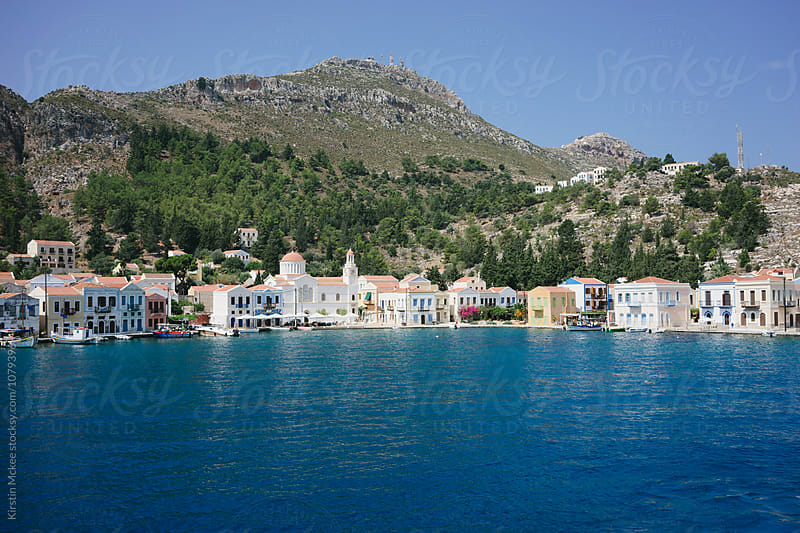 Kastellorizo Bay by Kirstin Mckee for Stocksy United