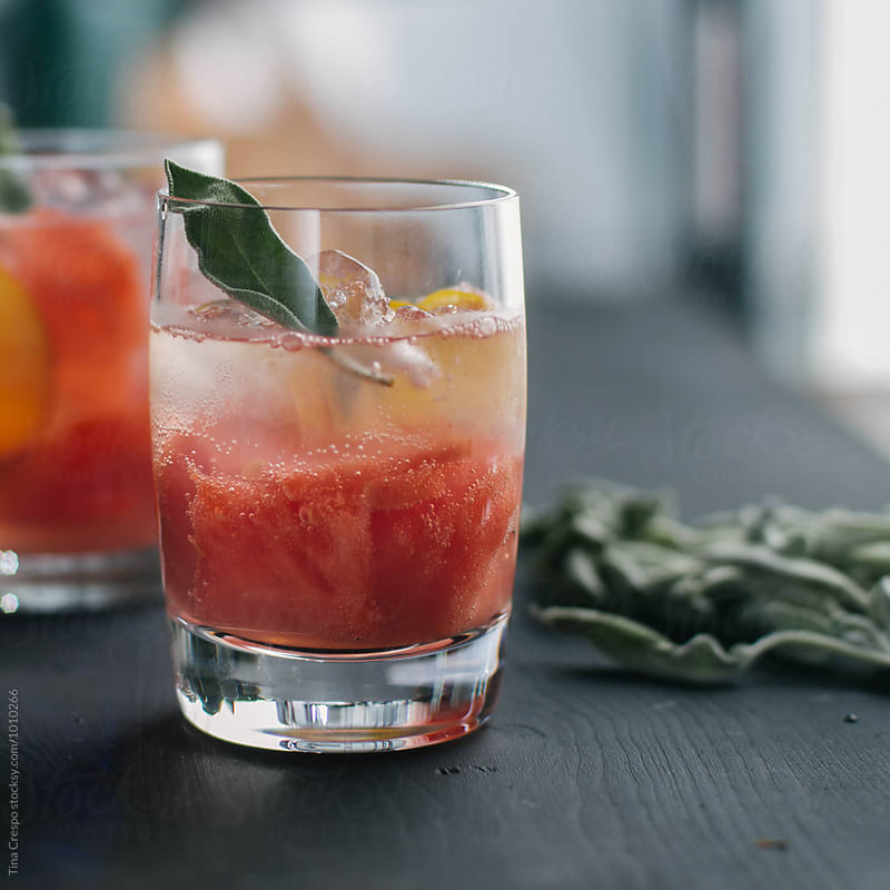 Watermelon Spritzer by Tina Crespo for Stocksy United