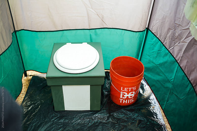 No-flush toilet by ZOA PHOTO for Stocksy United