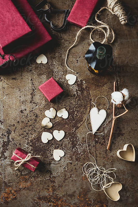Valentine's Day decoration by Tatjana Zlatkovic for Stocksy United