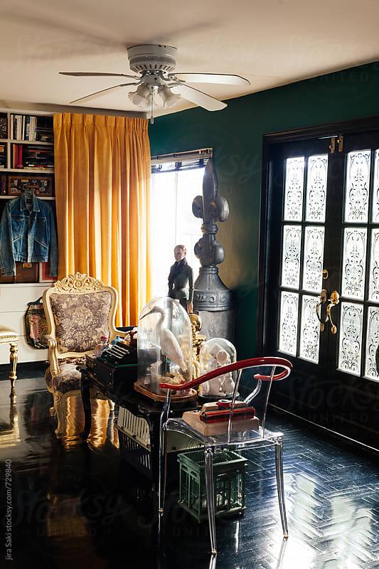 living room by jira Saki for Stocksy United