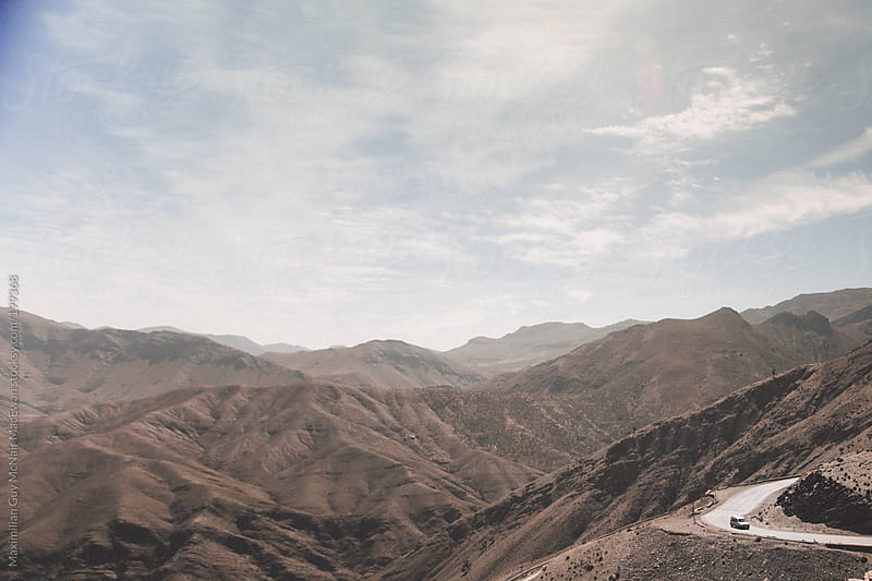 The Atlas Mountains of Morocco by Maximilian Guy McNair MacEwan for Stocksy United