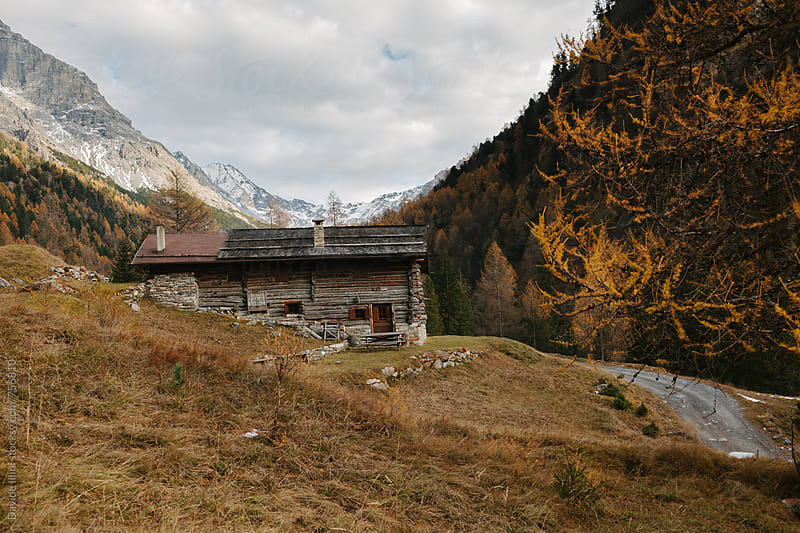 Typical mountain chalet by Davide Illini for Stocksy United
