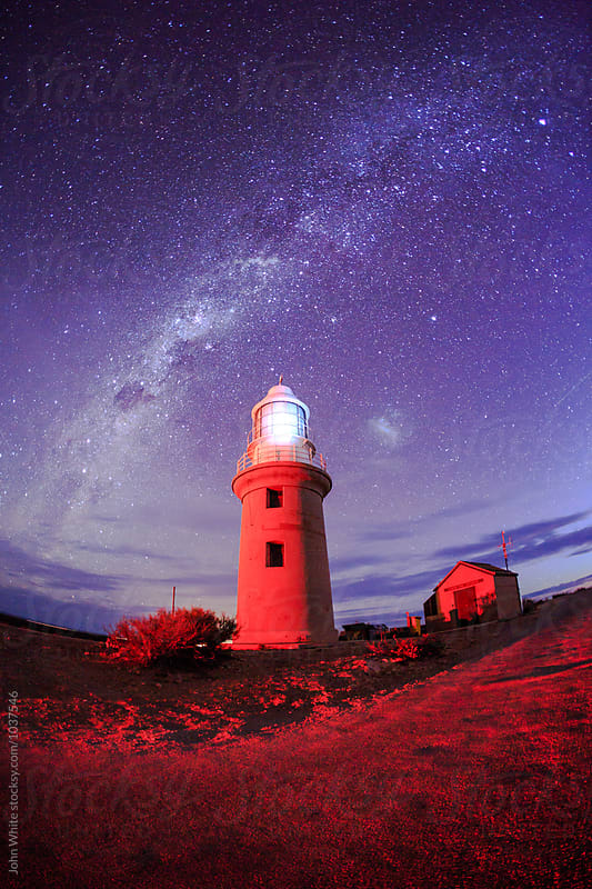 Vlaming Head lighthouse. Exmouth. Western Australia. by John White for Stocksy United