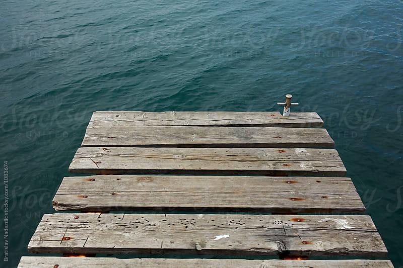 Wooden marine dock by Bratislav Nadezdic for Stocksy United