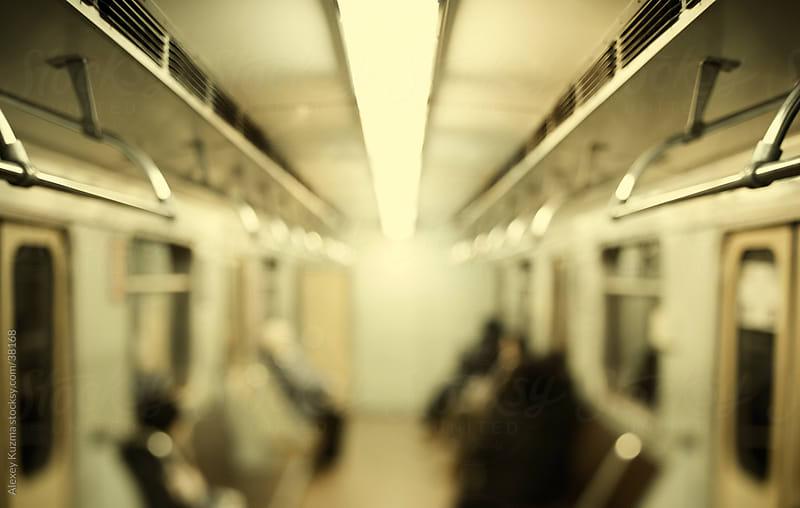 Subway Train by Alexey Kuzma for Stocksy United