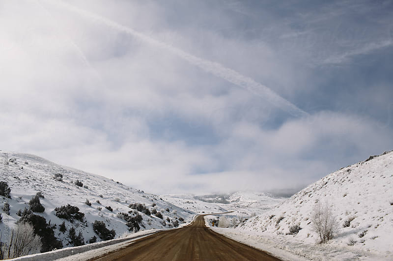 Mountain Road by Brad and Jen Butcher for Stocksy United