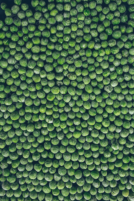 Peas Background by Lumina for Stocksy United