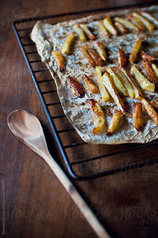 Baked chips by Eleonora Grasso for Stocksy United