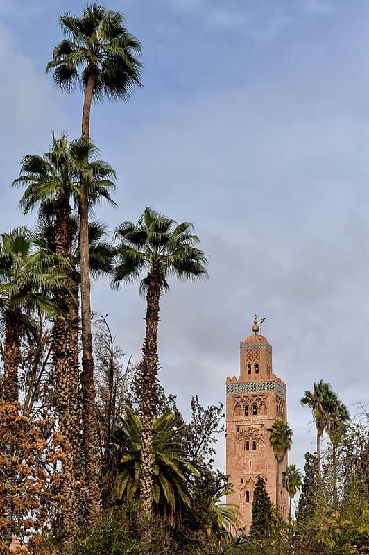 Koutoubia Mosque by Bisual Studio for Stocksy United