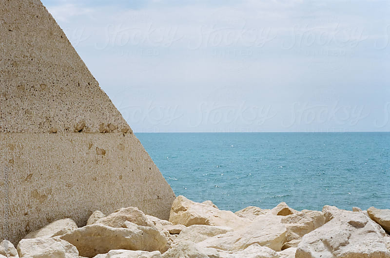 Geometrical photo of seaside by Milles Studio for Stocksy United