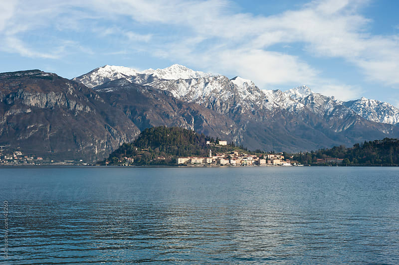 Bellagio town - Lake Como Italy by GIC for Stocksy United