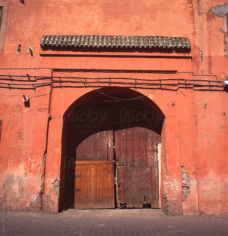 Moroccan Entrance by Skyler Dahan for Stocksy United