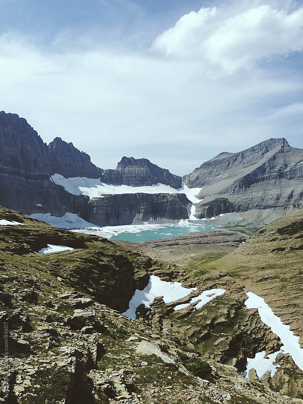 Grinnell Glacier by Kevin Russ for Stocksy United