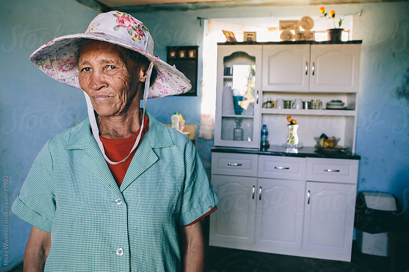 Portrait of a South African domestic worker by Micky Wiswedel for Stocksy United