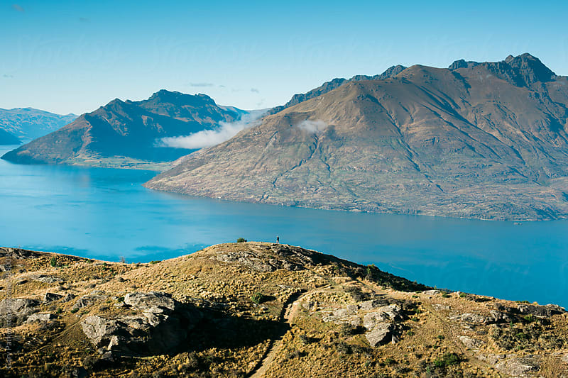 Queenstown lookout by Gary Parker for Stocksy United