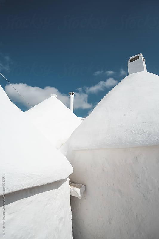 Cone-roofed houses of Alberobello by Branislav Jovanović for Stocksy United