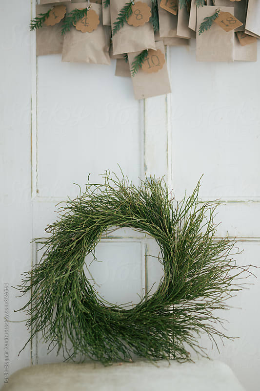 Rustic wreath by Török-Bognár Renáta for Stocksy United