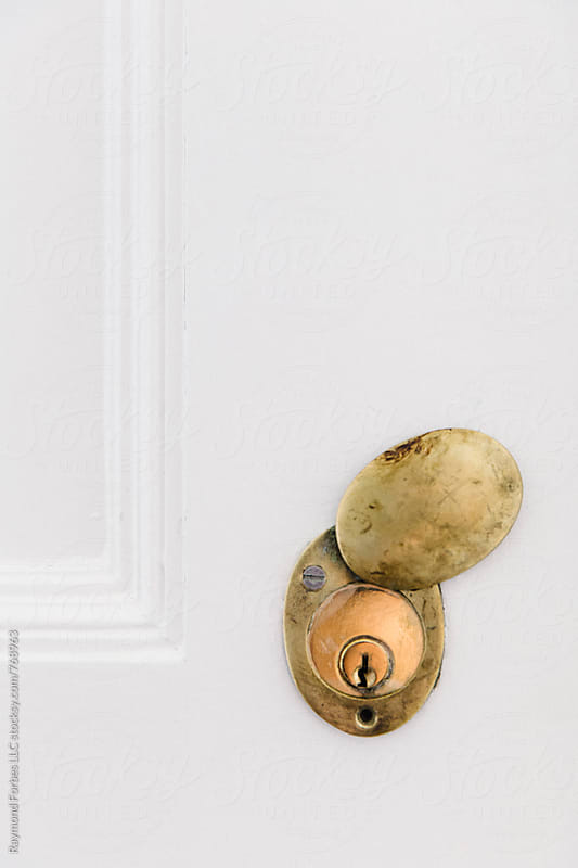 Brass Antique Key Hole by Raymond Forbes LLC for Stocksy United
