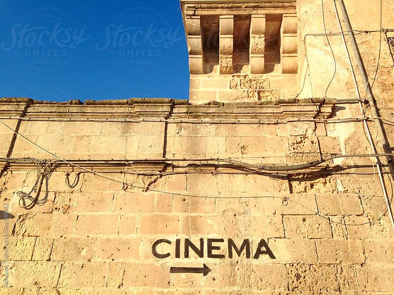 Cinema by Tommaso Tuzj for Stocksy United