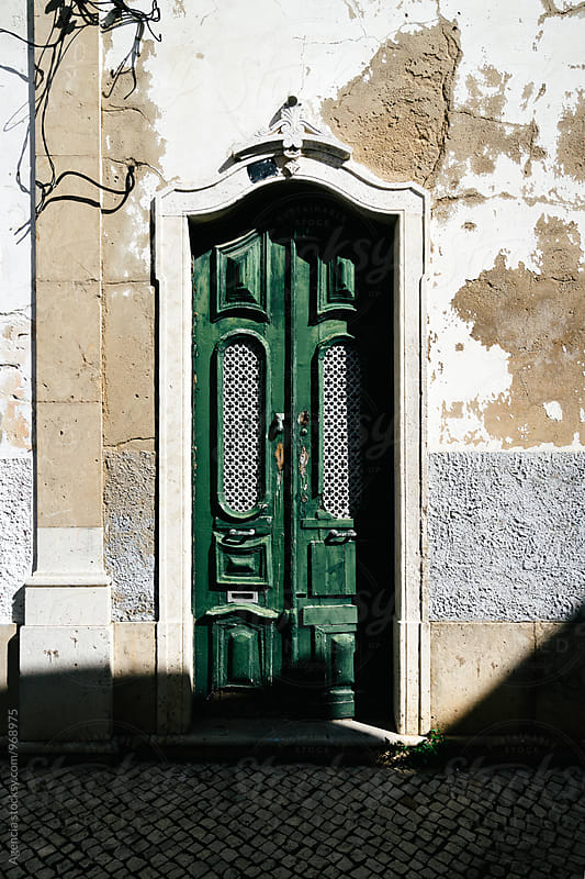 Portuguese Doorway by Agencia for Stocksy United