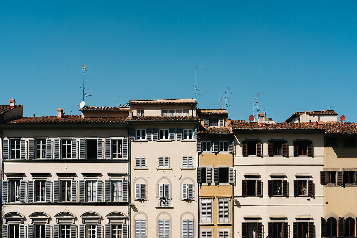 Traditional Italian buildings in Florence, Italy, by Sam ...