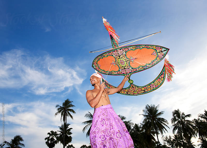 Kite Flying. East Coast. Malaysia. by Hugh Sitton for Stocksy United