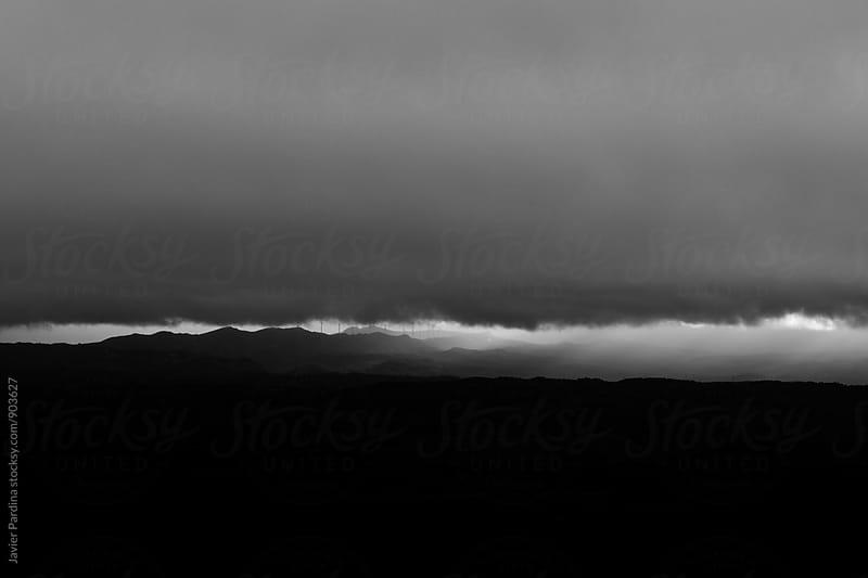 storm landscape by Javier Pardina for Stocksy United