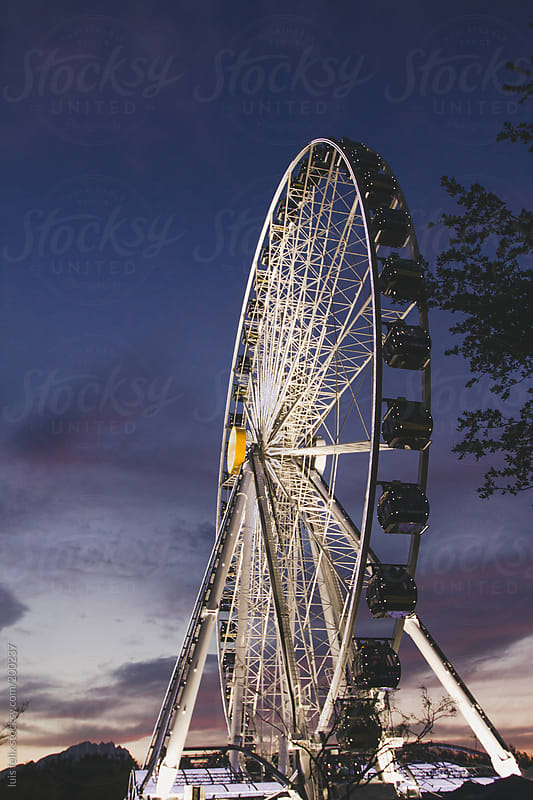 WHEEL OF FORTUNE by luis felix for Stocksy United
