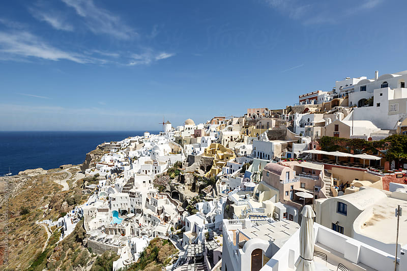 Santorini, Oia by Maa Hoo for Stocksy United