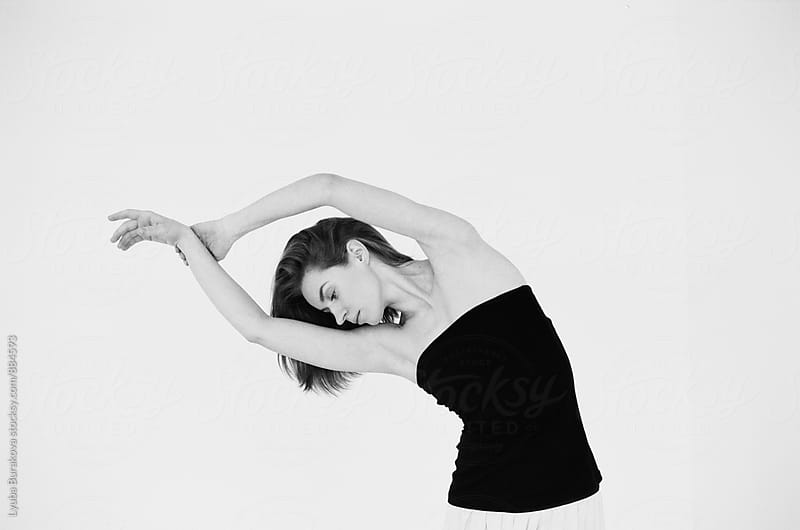 Woman dancing by Liubov Burakova for Stocksy United