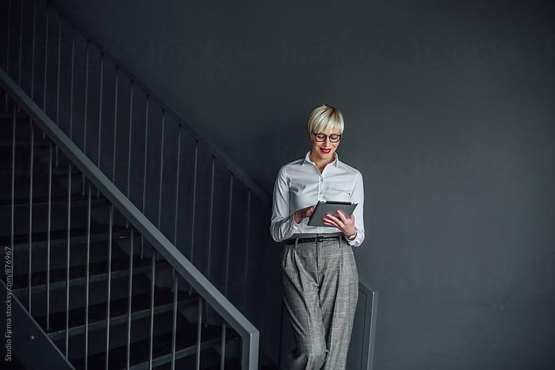 Businesswoman by Studio Firma for Stocksy United