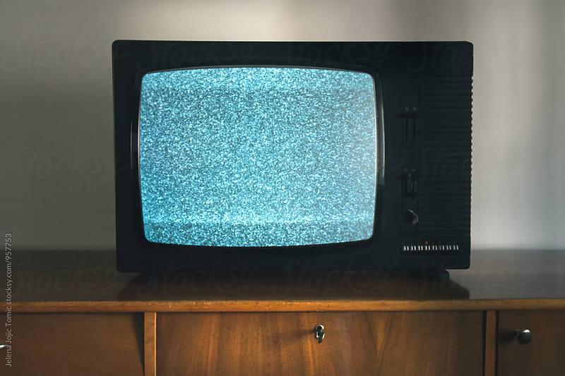 Mid-century  TV set by Jelena Jojic Tomic for Stocksy United