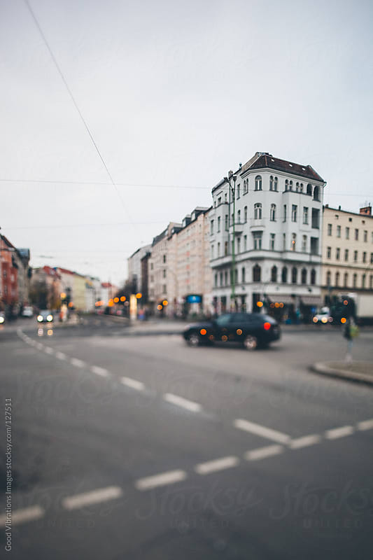 Street Scene in Berlin by Good Vibrations Images for Stocksy United