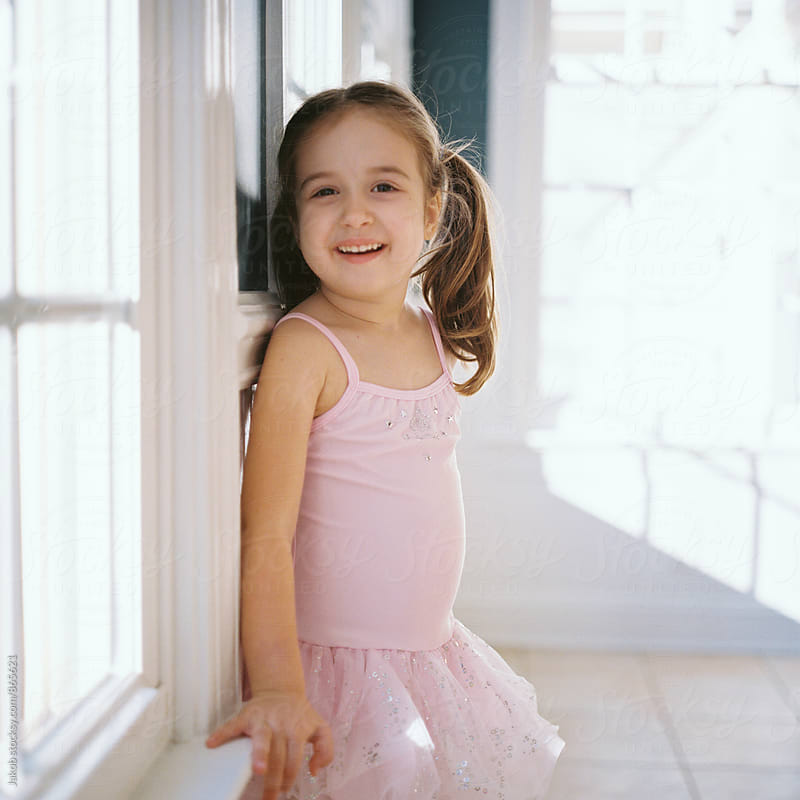 Beautiful young girl in a tutu  by Jakob for Stocksy United