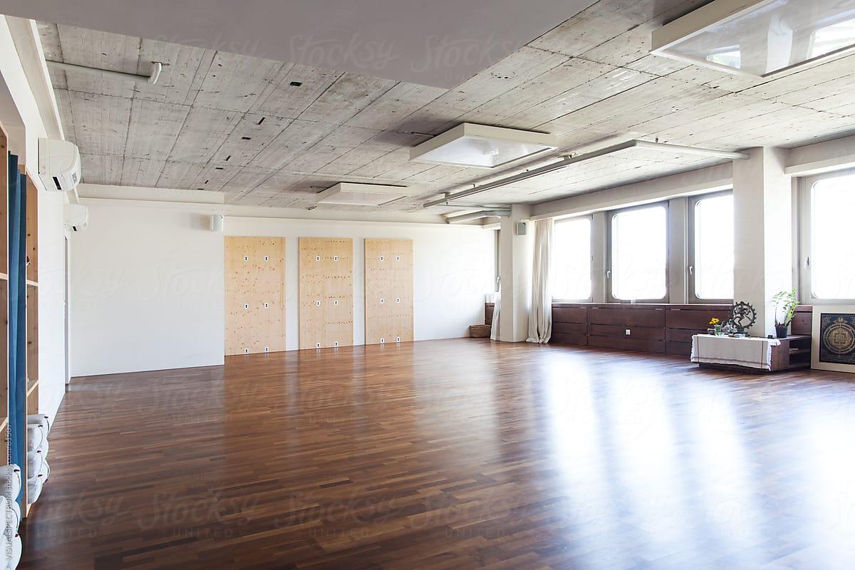 Modern Yoga Studio By Visualspectrum Stocksy United