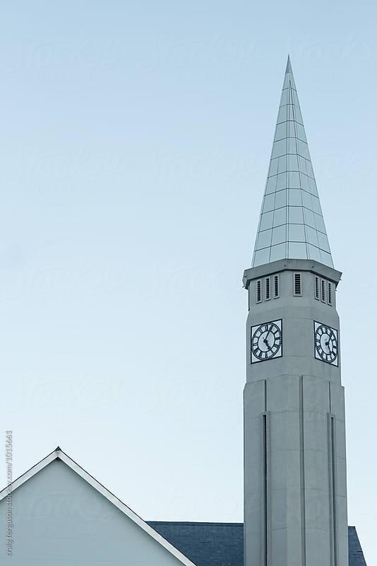 Church Spire by craig ferguson for Stocksy United