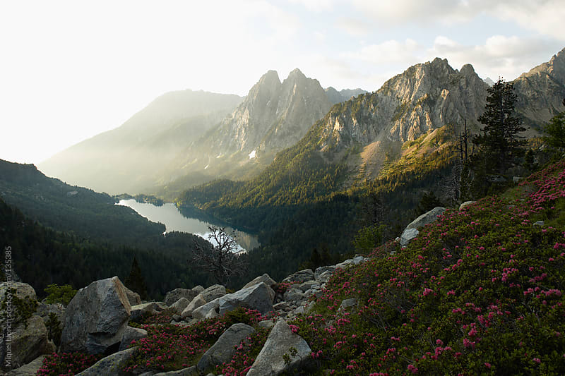 Aiguestortes and Sant Maurici National Park. Catalonia, Spain. by Miquel Llonch for Stocksy United