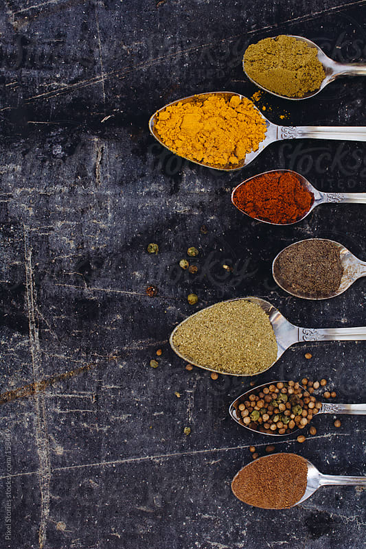 Colorful spices by Pixel Stories for Stocksy United