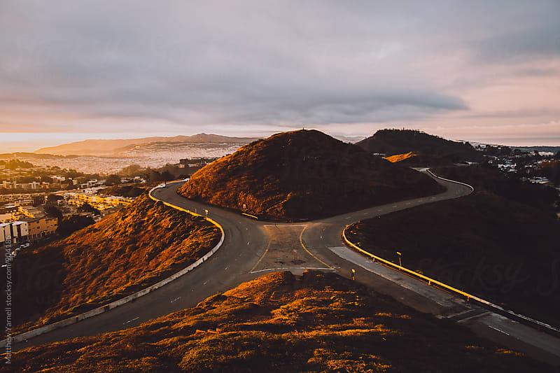 Twin Peaks, California by Matthew Yarnell for Stocksy United