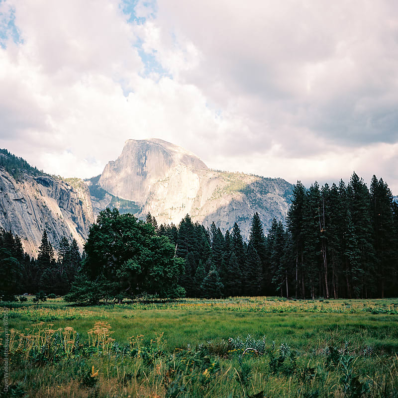 Half Dome by Dave Waddell for Stocksy United