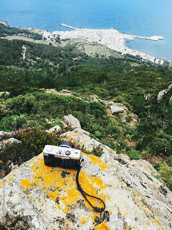 Retro 35mm Rangefinder Camera on Viewpoint by Julien L. Balmer for Stocksy United