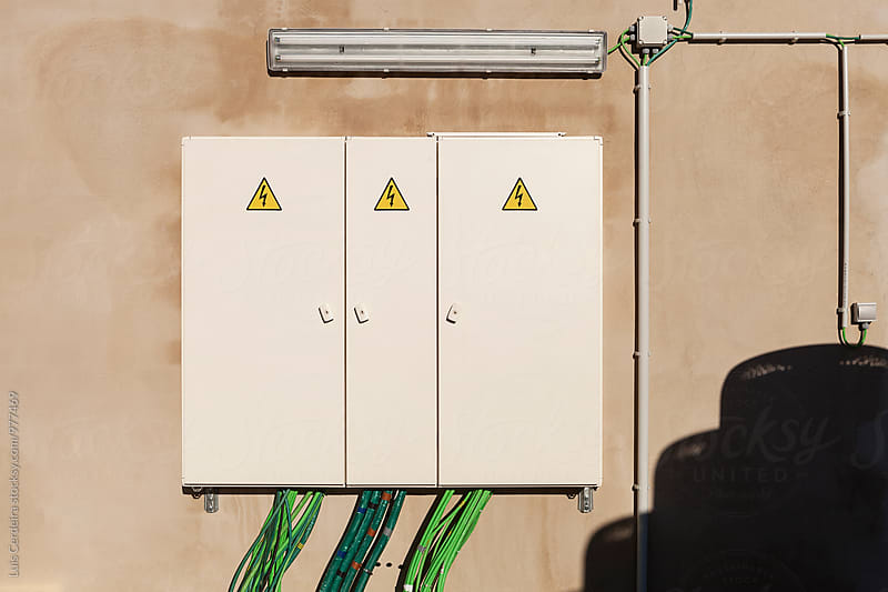 Distribution fusebox by Luis Cerdeira for Stocksy United