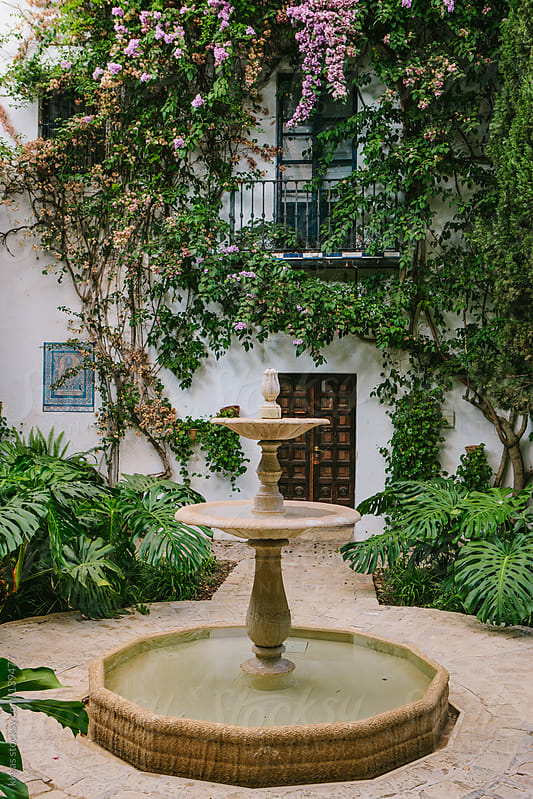 Andalucian patio by kkgas for Stocksy United