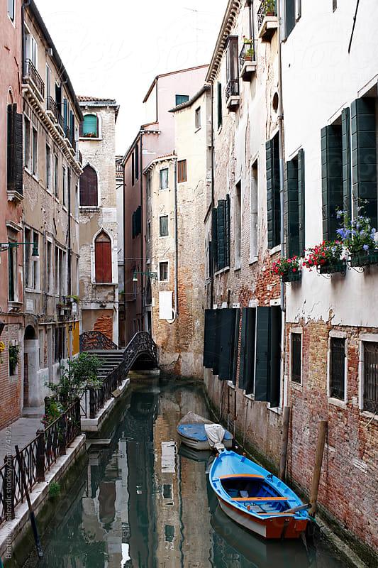 Venice canal by Bratislav Nadezdic for Stocksy United