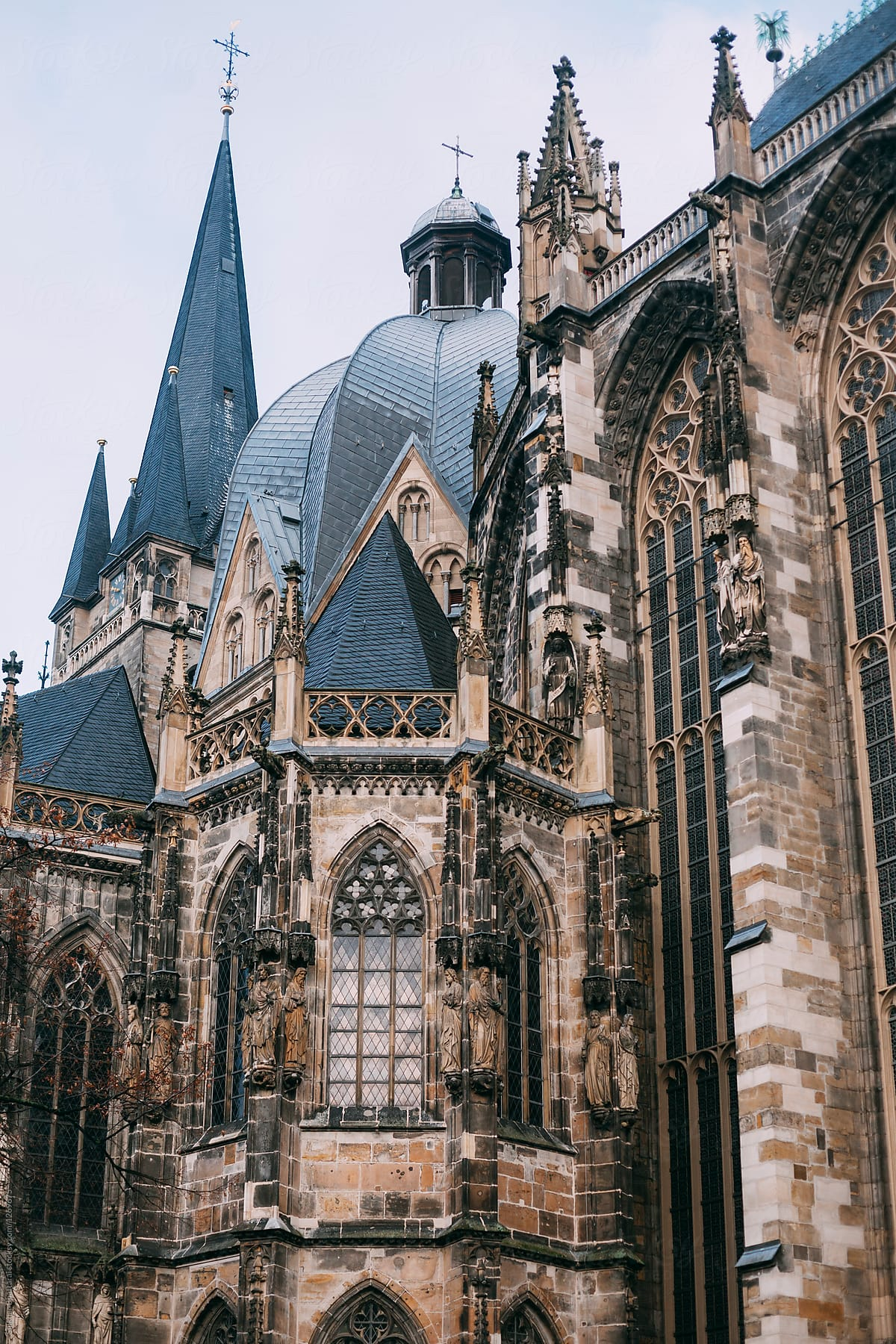 Cathedral Of Aix La Chapelle Aachen Germany By Shikhar Bhattarai Aachen Cathedral Stocksy United